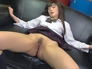 Amazing Asian Clit Pussy Teen Uniform