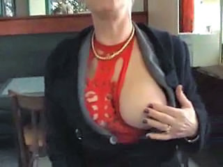 Amateur European French Mature Public