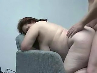 Amateur BBW Doggystyle Wife