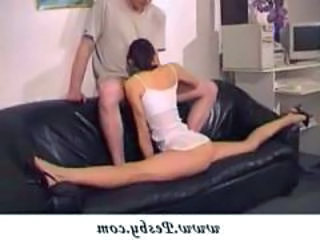Ass Blowjob Extreme Flexible Teen