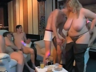 BBW Big Tits Blonde Groupsex Mature Natural Old and Young Orgy Party