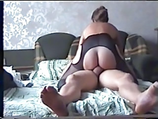Amateur Homemade Mature Pantyhose Riding Russian