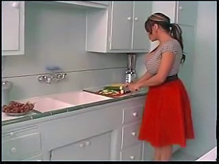 Kitchen Latina Mom