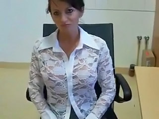German Mature Office Secretary