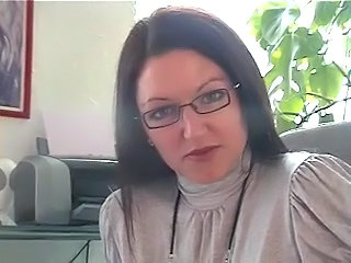 British Glasses MILF Office Secretary
