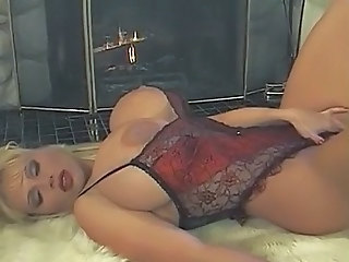 Big Tits Lingerie MILF Sleeping