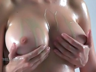 Big Tits Bus Oiled