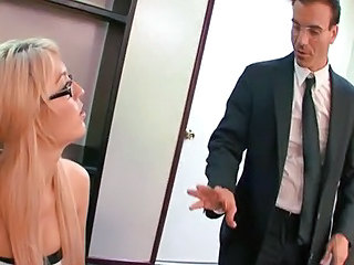 Glasses MILF Office Secretary
