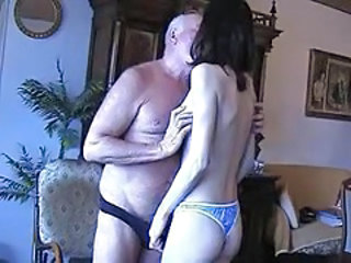 Ass Homemade Kissing Old and Young Panty