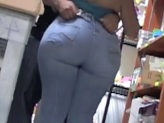 Ass Chubby Jeans Office