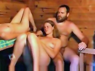 Nudist Russian Threesome
