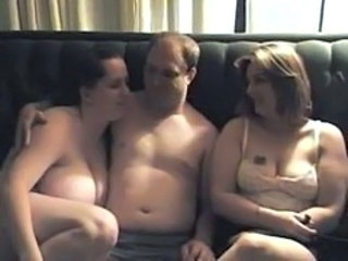 Amateur BBW Chubby Homemade Mature Older Threesome Wife