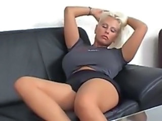 Amazing Big Tits Blonde MILF