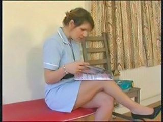 British European MILF Nurse Uniform