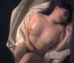 Asian Massage MILF Oiled Orgasm