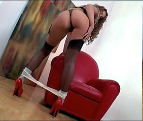 Ass MILF Panty Stockings Stripper