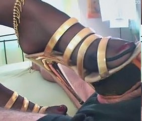footjob in pantyhose