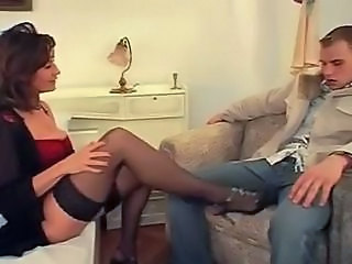 Amazing European German Legs MILF Mom Old and Young Stockings