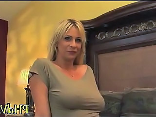 Blonde Man MILF Natural