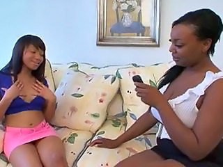 Daughter Ebony Lesbian MILF Mom Old and Young Young