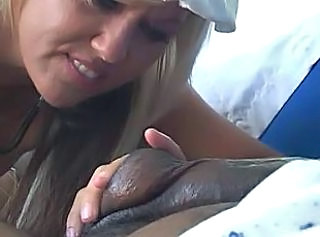 Handjob Interracial MILF Nurse