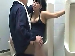Amateur Asian Clothed Public Teen Toilet