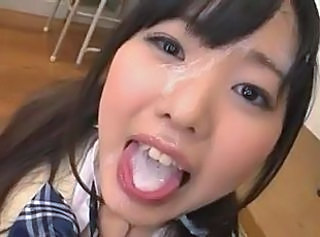 Asian Bukkake Cumshot Japanese Swallow Teen