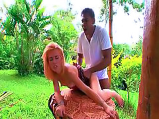 Brazilian Doggystyle Latina Outdoor Teen