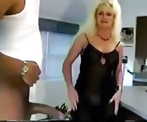Big cock Blonde Cuckold Interracial MILF Vintage Wife