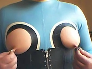 Latex Mamilos Piercing