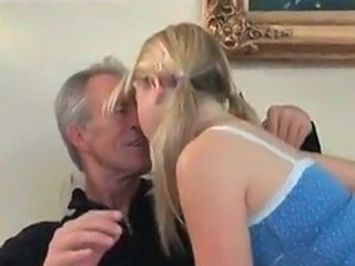Kissing Old and Young Pigtail