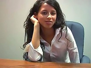 Cute Office Secretary Teen Young
