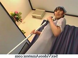 Asian Babe Cute Japanese Maid Uniform
