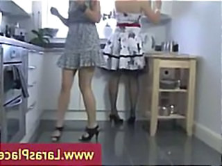 Kitchen Legs Mature MILF