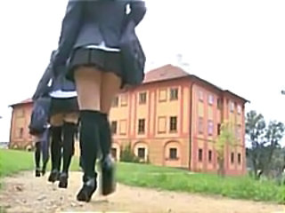 School Teen Uniform Vintage Young
