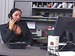 Brunette MILF Office Secretary