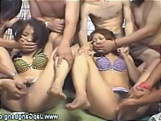 Asian Fisting Forced Gangbang Hardcore Teen