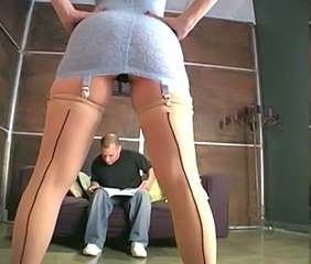 Ass Facesitting Femdom Stockings