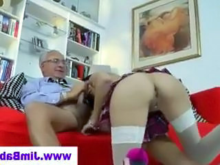 Ass Blowjob Daddy French Old and Young Teacher Teen