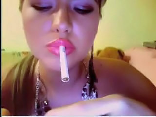 Smoking Teen Webcam