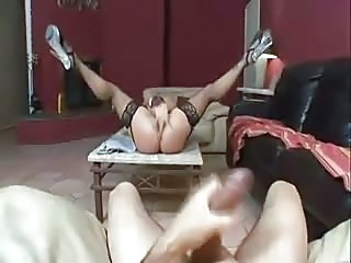 Big cock Masturbating Pov Stockings Squirt