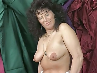 European German Mature SaggyTits