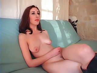 Cute European French SaggyTits Teen