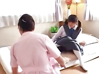 Asian Massage Student Teen Uniform