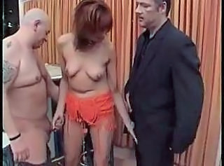 European German Handjob MILF SaggyTits Threesome