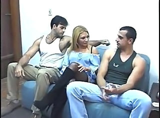 Brazilian Latina MILF Threesome