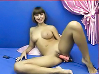 Dildo Masturbating Teen Toy Webcam