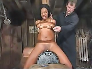 Bondage Ebony Machine Teen