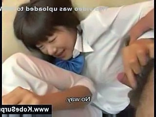 Asian Handjob Japanese Small cock Student Teen Uniform