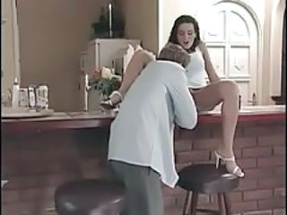 Kitchen Licking Teen